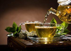 Полезный эффект зеленого чая.